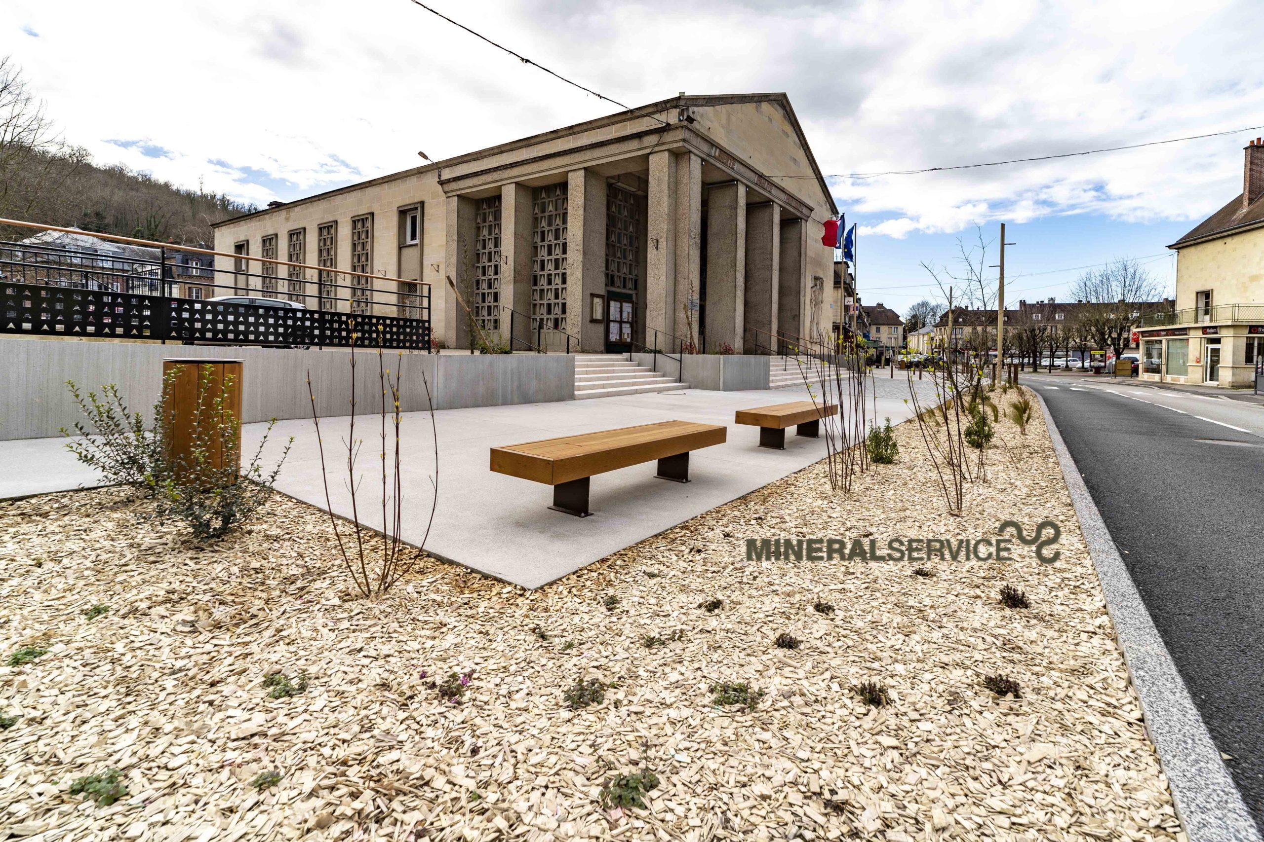 Aménagements urbains - Les Andelys